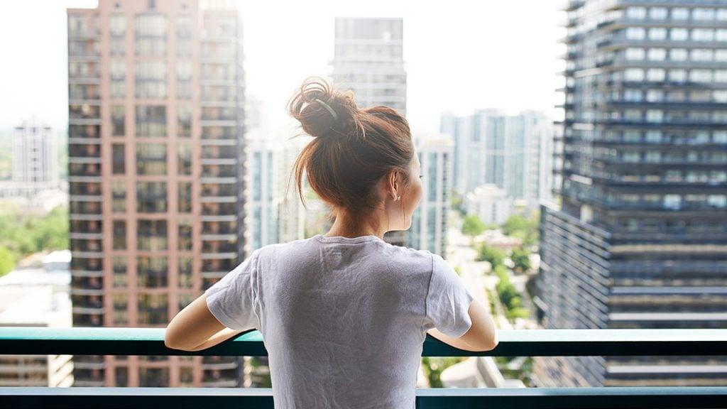 Кондомініум, панорама з балкону