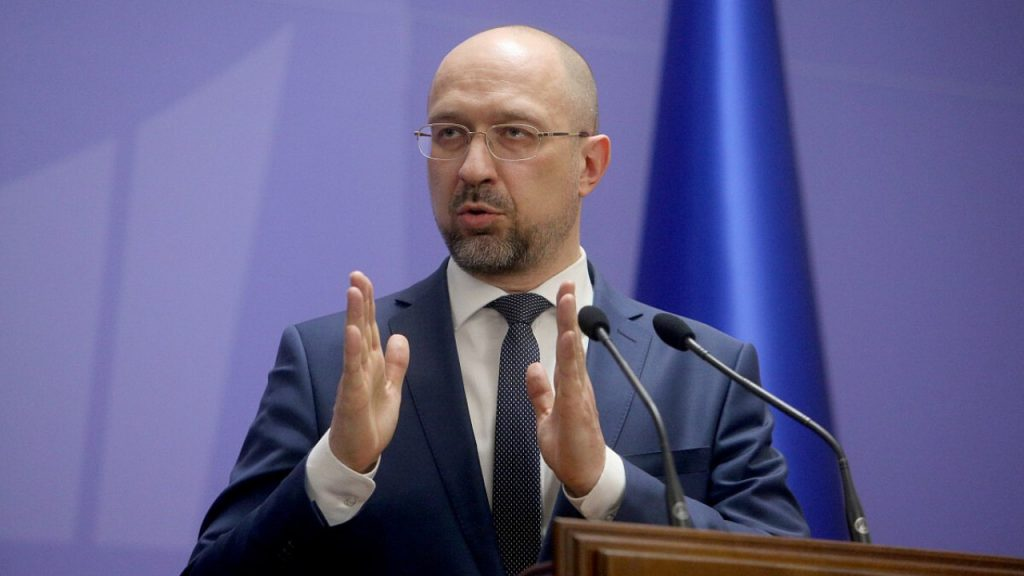 Прем'єр-міністр України Денис Шмигаль