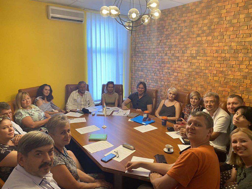 Засідання правління Асоціації ОСББ міста Києва 20 серпня 2020 року