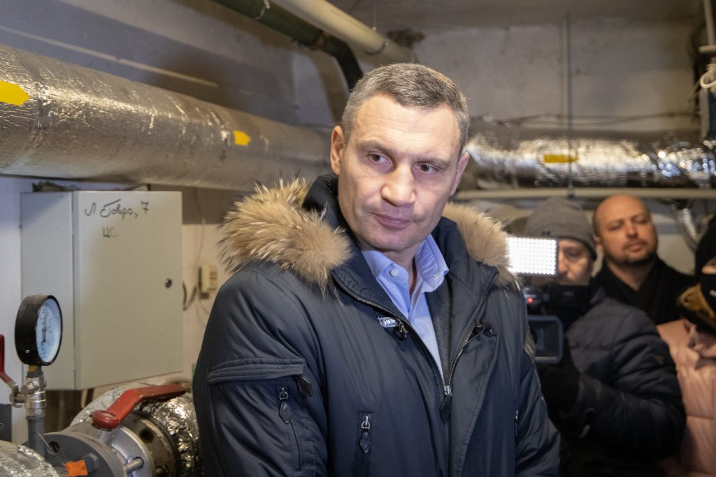 Віталій Кличко у будинку на вулиці Йорданській