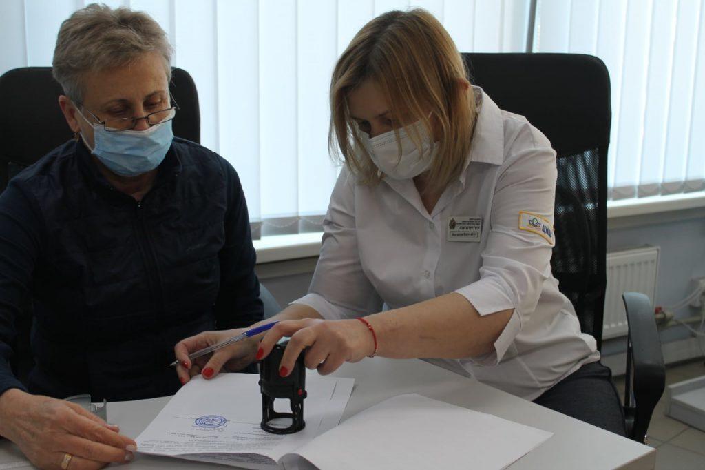 Асоціація ОСББ Деснянського району підписує меморандум з ЦНАП у Деснянському районі міста Києва