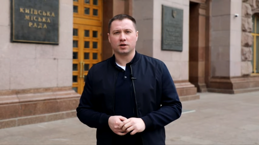 Депутат Київської міської ради Михайло Терентьєв