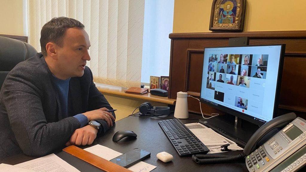 Заступник голови КМДА Петро Пантелеєв, нарада з представниками районних асоціацій ОСББ та ЖБК