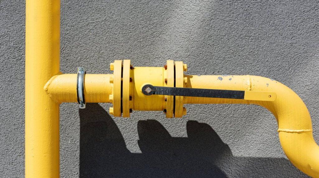 Газова труба будинку