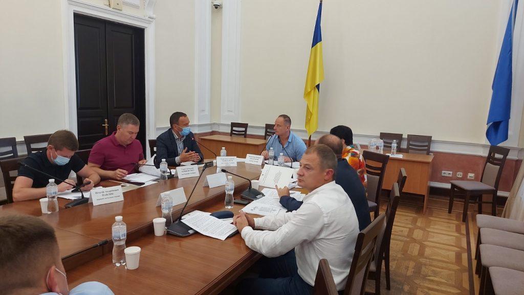 Засідання постійної комісії Київради з питань ЖКГ 21 липня 2021 року